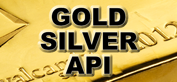 The best gold and silver api for website and app integration.