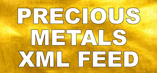 Precious metals xml feed